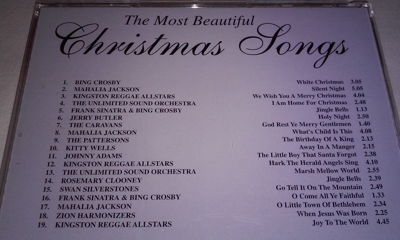 beautiful christmas songs for piano