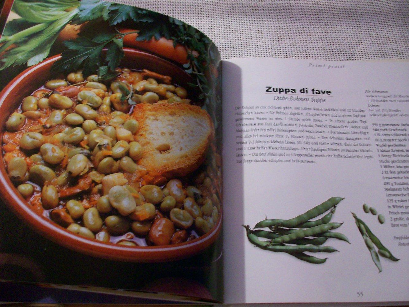 Kochbuch italienische rezepte for Italienisches kochbuch
