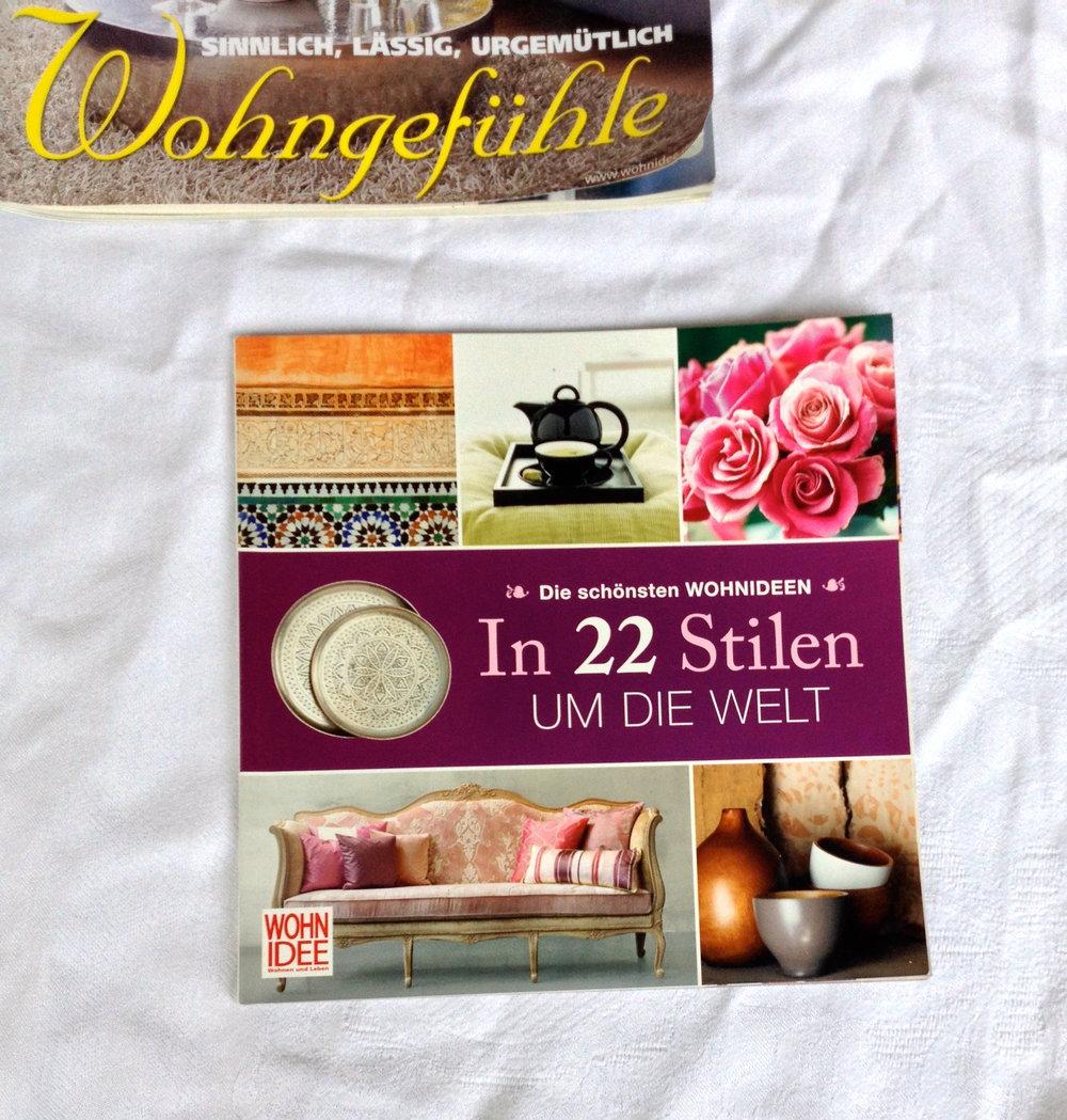 Zeitschrift Wohnidee Wohnen und Leben plus Extra-Heft neuwertig ...