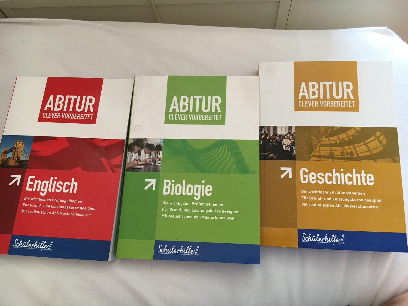 Kleiderkorb.de :: Schülerhilfe Abitur Englisch, Bio
