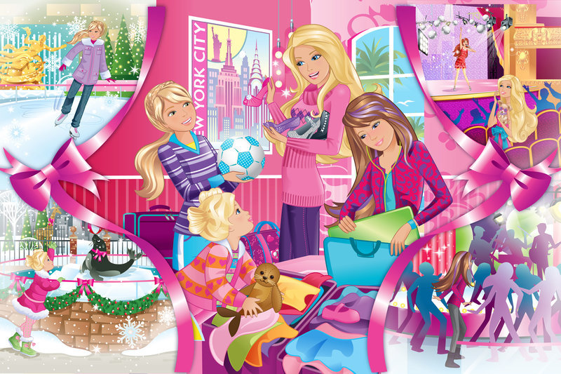 neue dvd barbie zauberhafte weihnachten. Black Bedroom Furniture Sets. Home Design Ideas