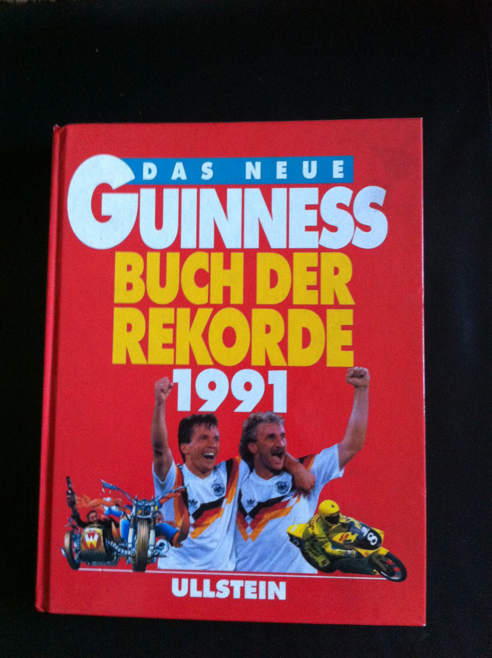 guinness buch der rekorde von 1991. Black Bedroom Furniture Sets. Home Design Ideas