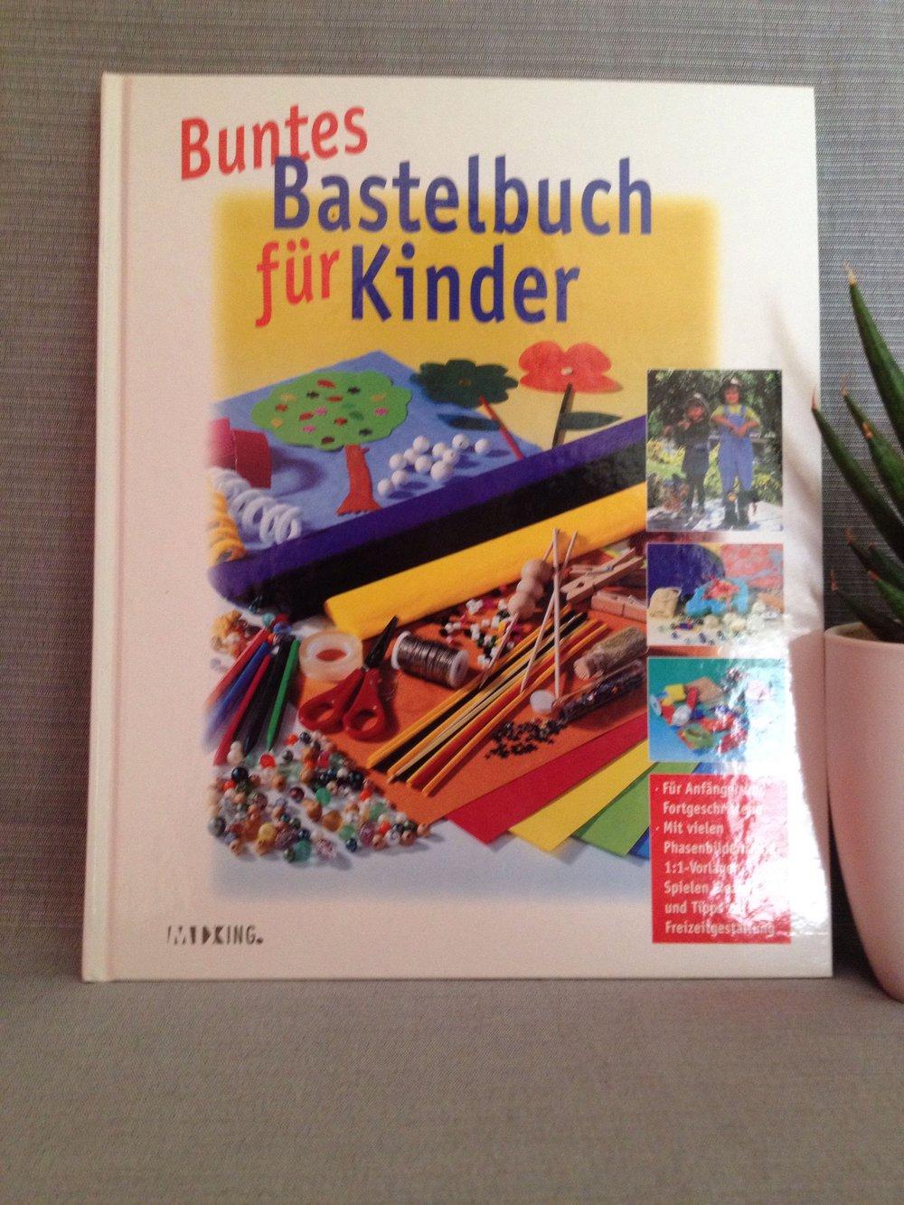 buntes bastelbuch f r kinder. Black Bedroom Furniture Sets. Home Design Ideas