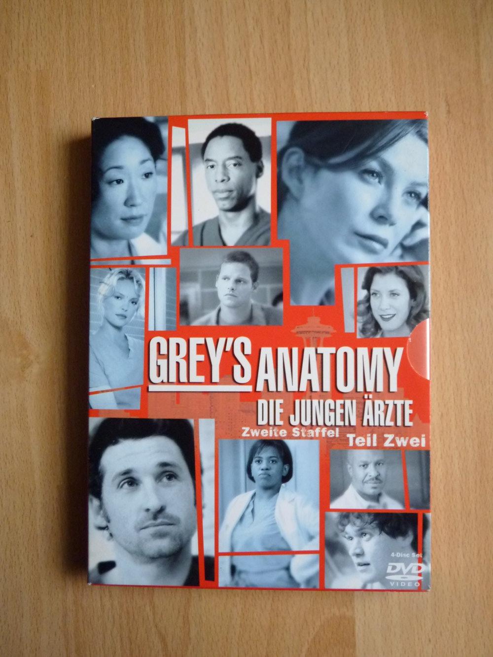 Grey's Anatomy Die Jungen Ärzte. Zweite Staffel Teil 2