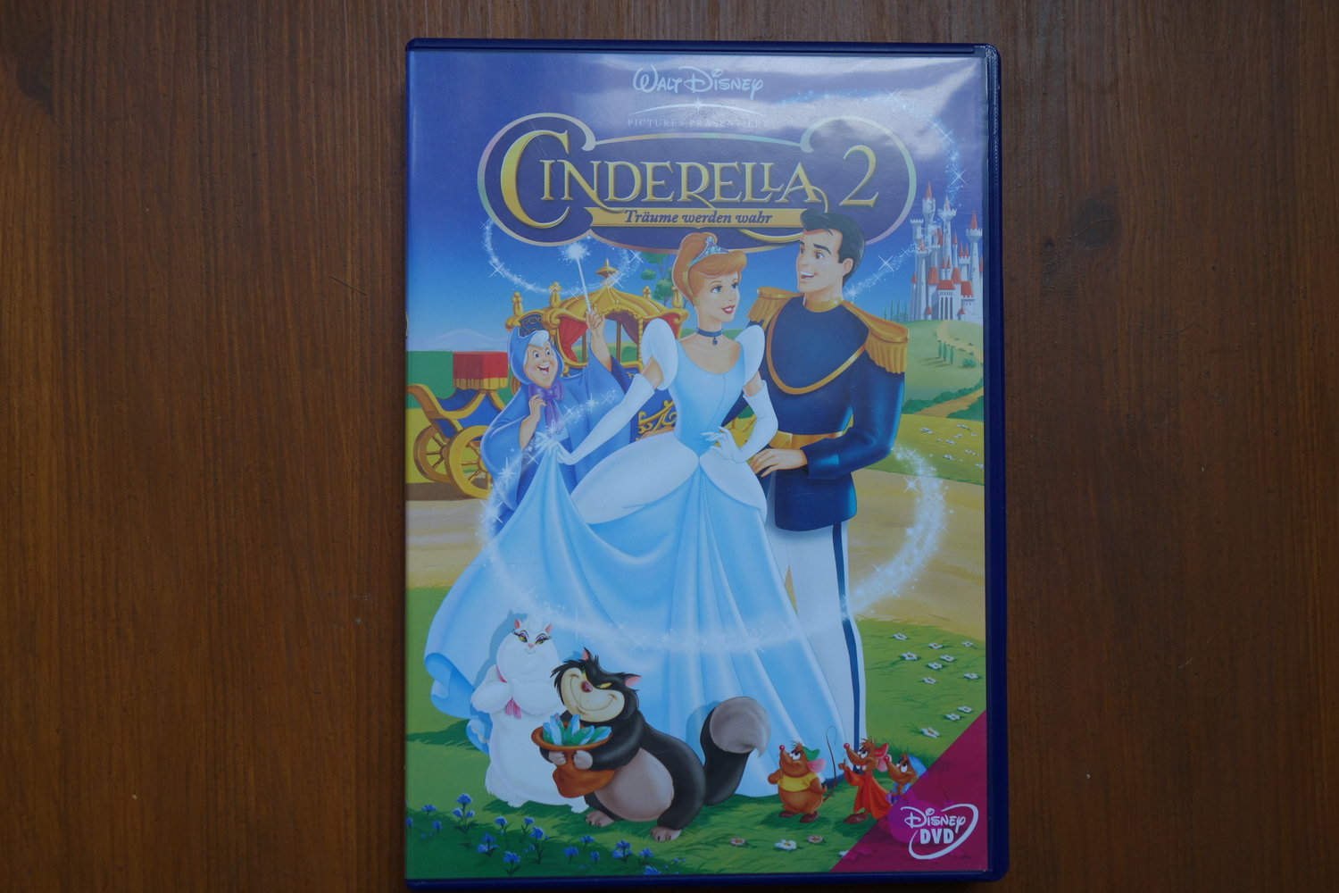 dvd cinderella 2 walt disney. Black Bedroom Furniture Sets. Home Design Ideas