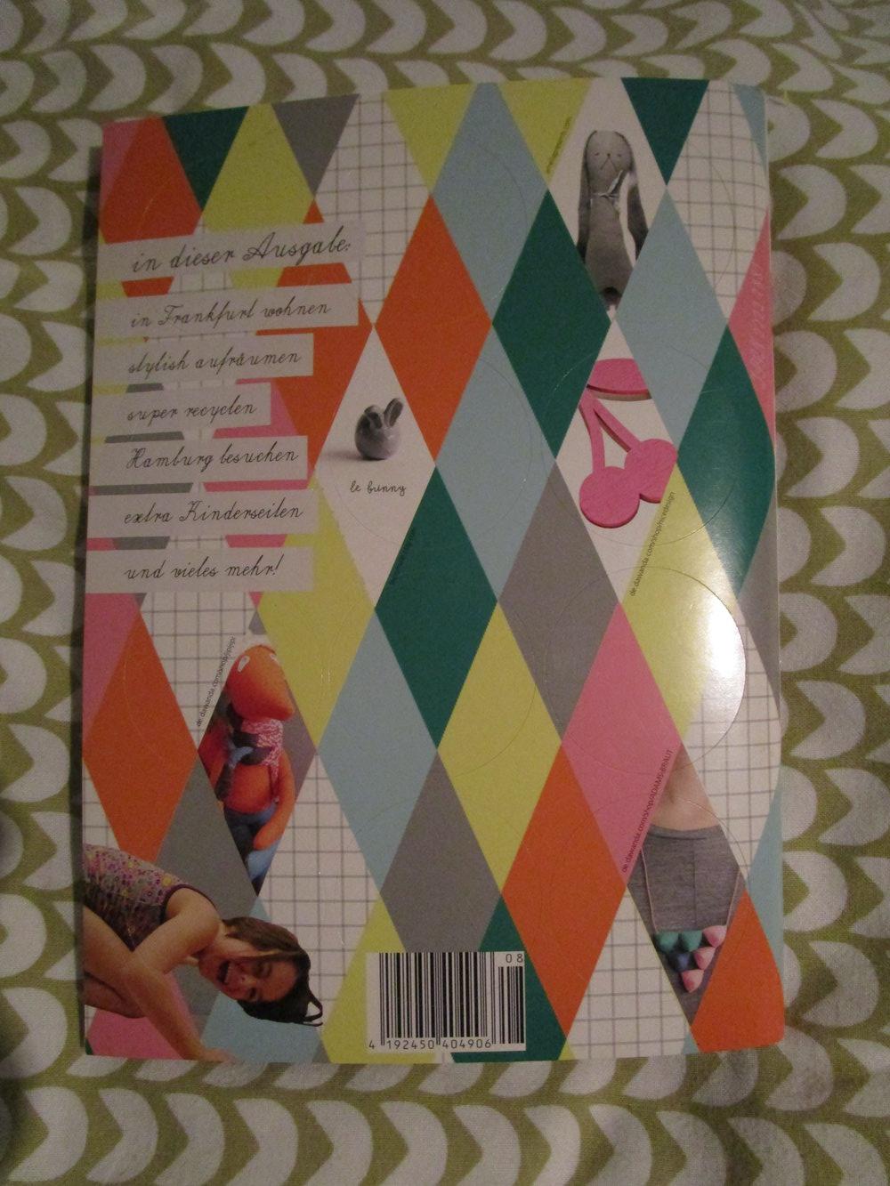 kleinformat 8 magazin zeitschrift kreative eltern diy kinder erziehung. Black Bedroom Furniture Sets. Home Design Ideas