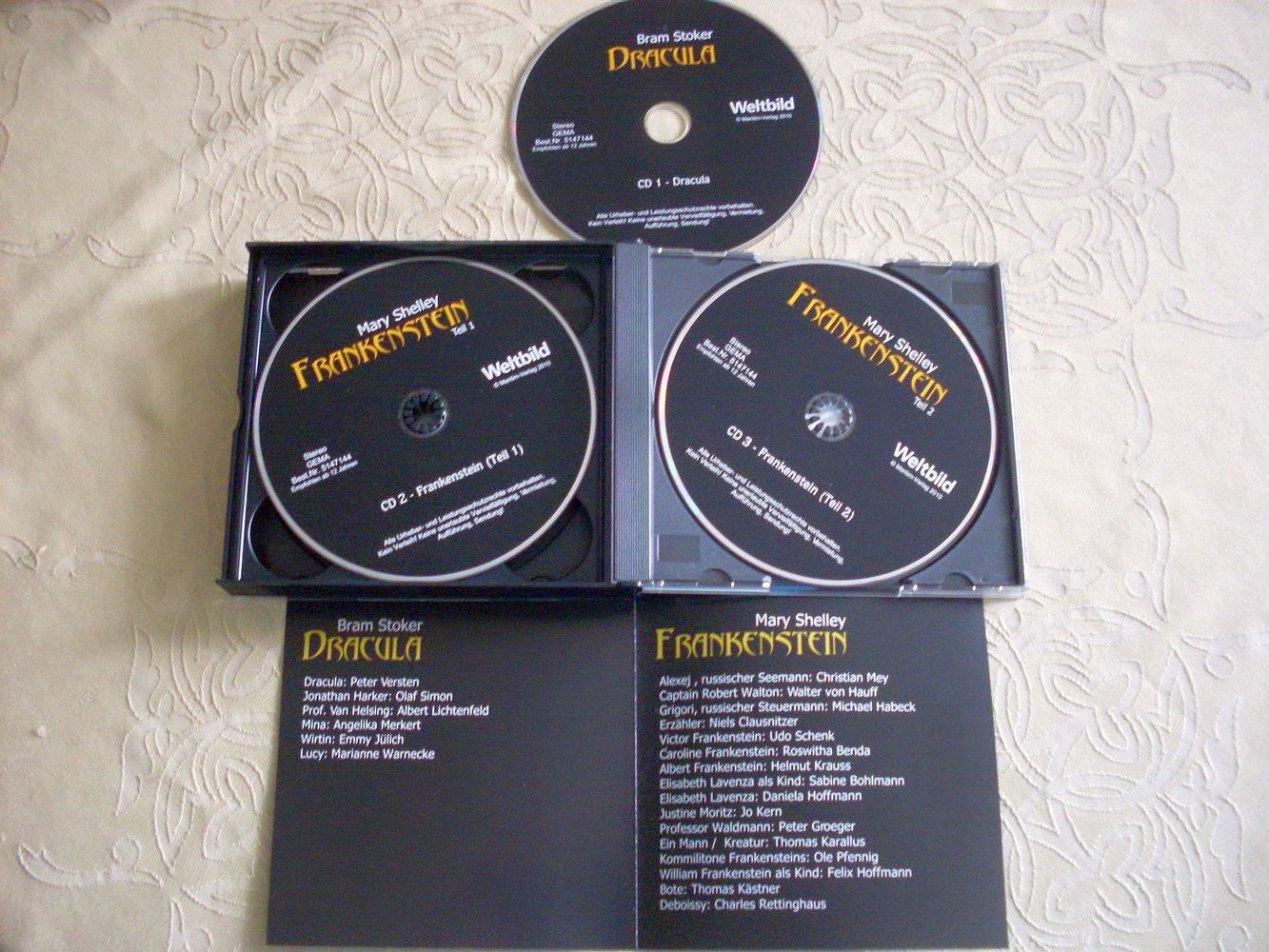 grusel h rspiel cd mit 2 st cken. Black Bedroom Furniture Sets. Home Design Ideas