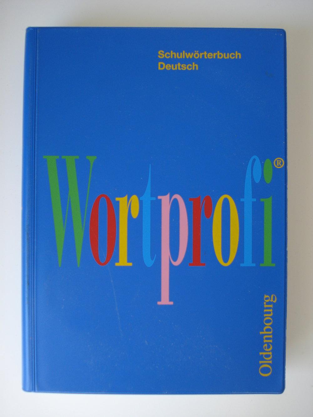 wortprofi schulw rterbuch deutsch 2002. Black Bedroom Furniture Sets. Home Design Ideas