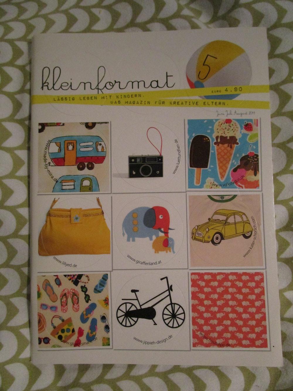 kleinformat 5 magazin zeitschrift kreative eltern diy kinder erziehung selbstgemacht hip basteln. Black Bedroom Furniture Sets. Home Design Ideas