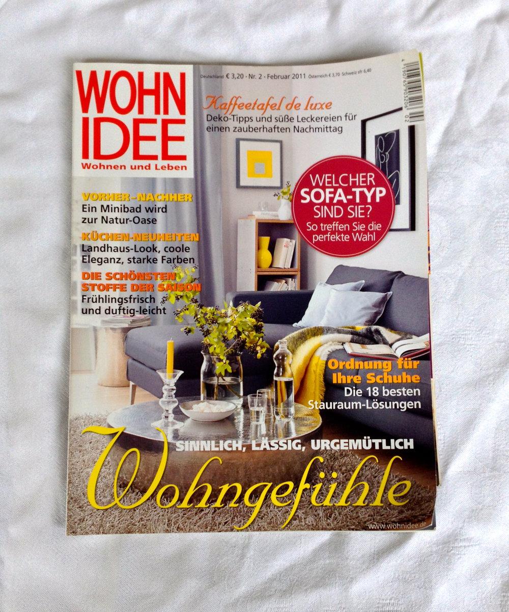 zeitschrift wohnidee wohnen und leben plus extra heft. Black Bedroom Furniture Sets. Home Design Ideas