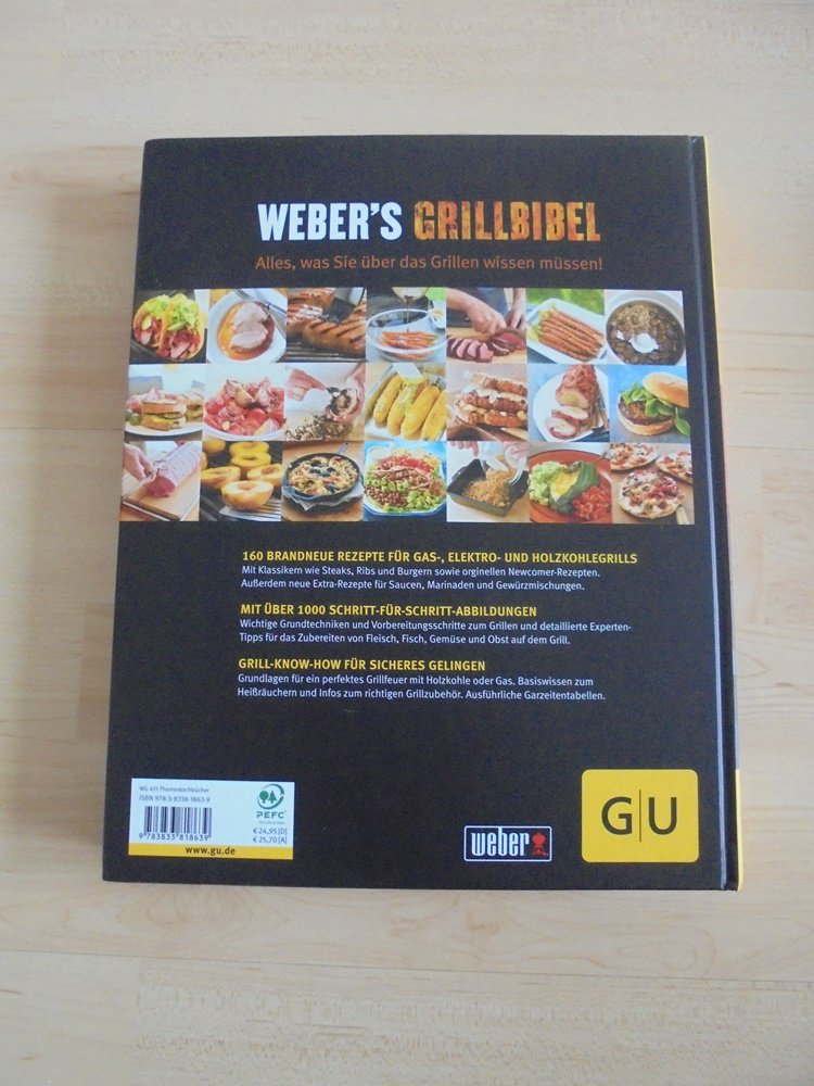 webers grill bibel buch neu thema grillen. Black Bedroom Furniture Sets. Home Design Ideas