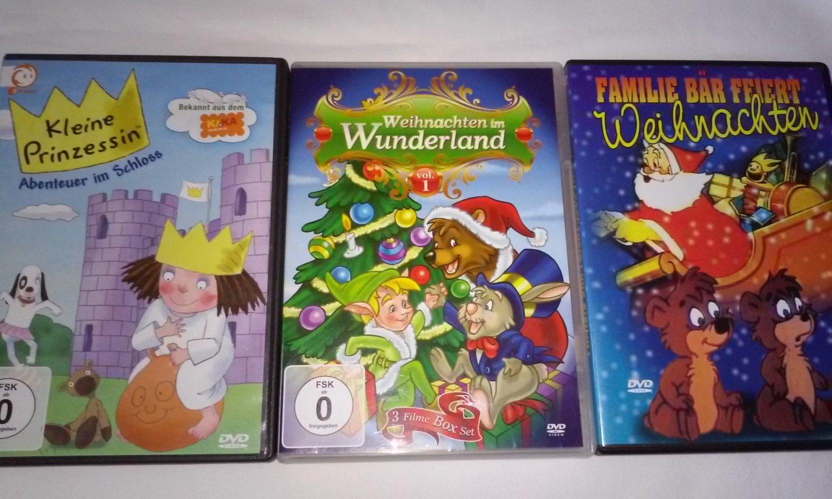 DVD Weihnachten im Wunderland, Familie Bär feiert Weihnachten ...