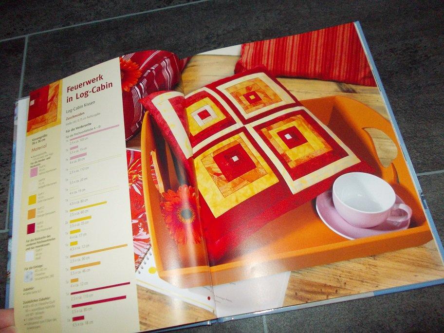 kissen n hen patchwork leicht gemacht. Black Bedroom Furniture Sets. Home Design Ideas