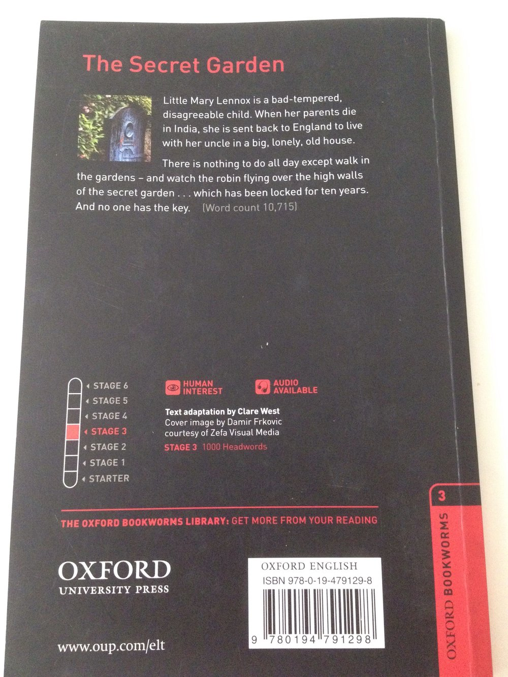 the secret garden frances hodgson burnett oxford bookworms pdf