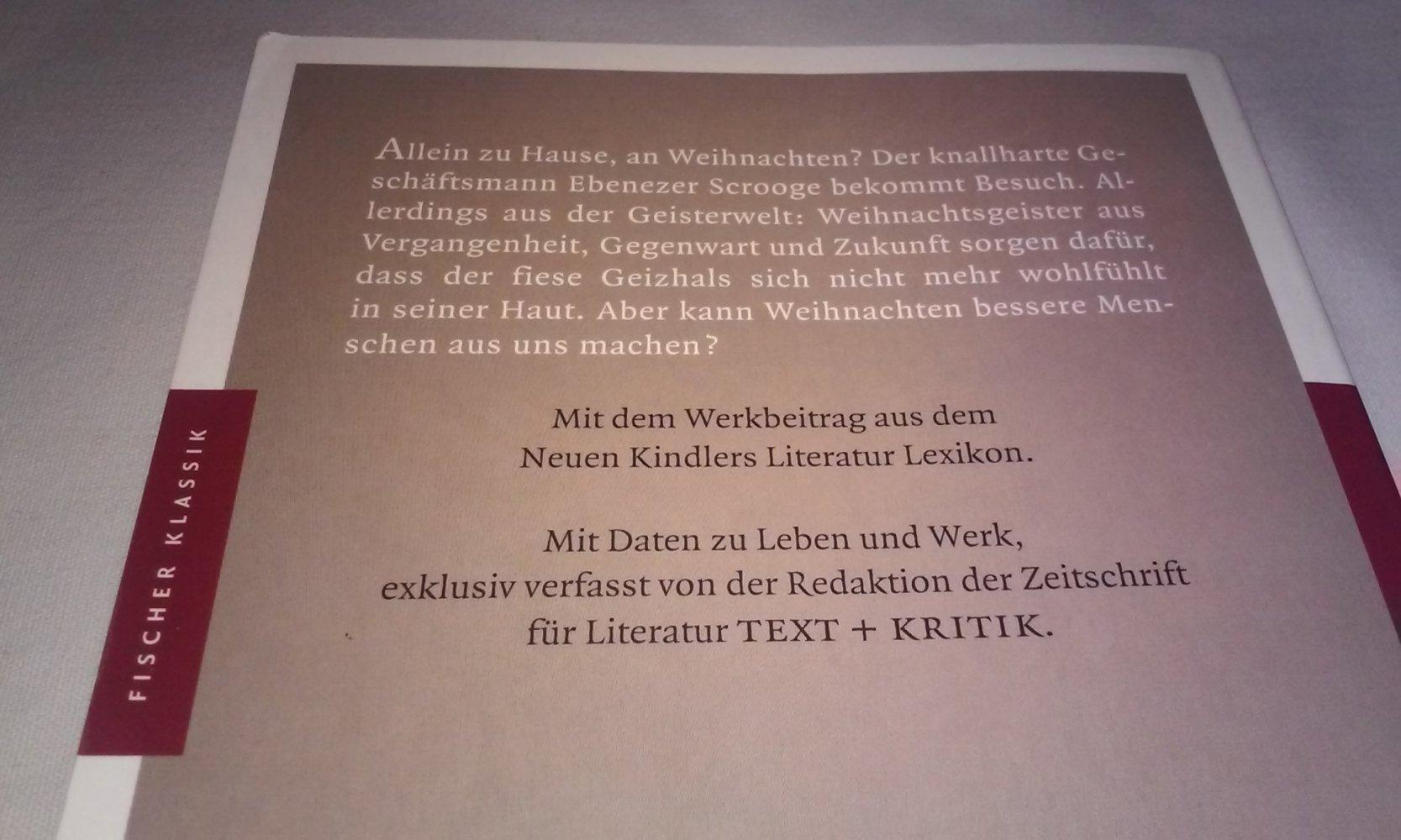 Charles Dickens Weihnachtsgeschichten :: Kleiderkorb.de