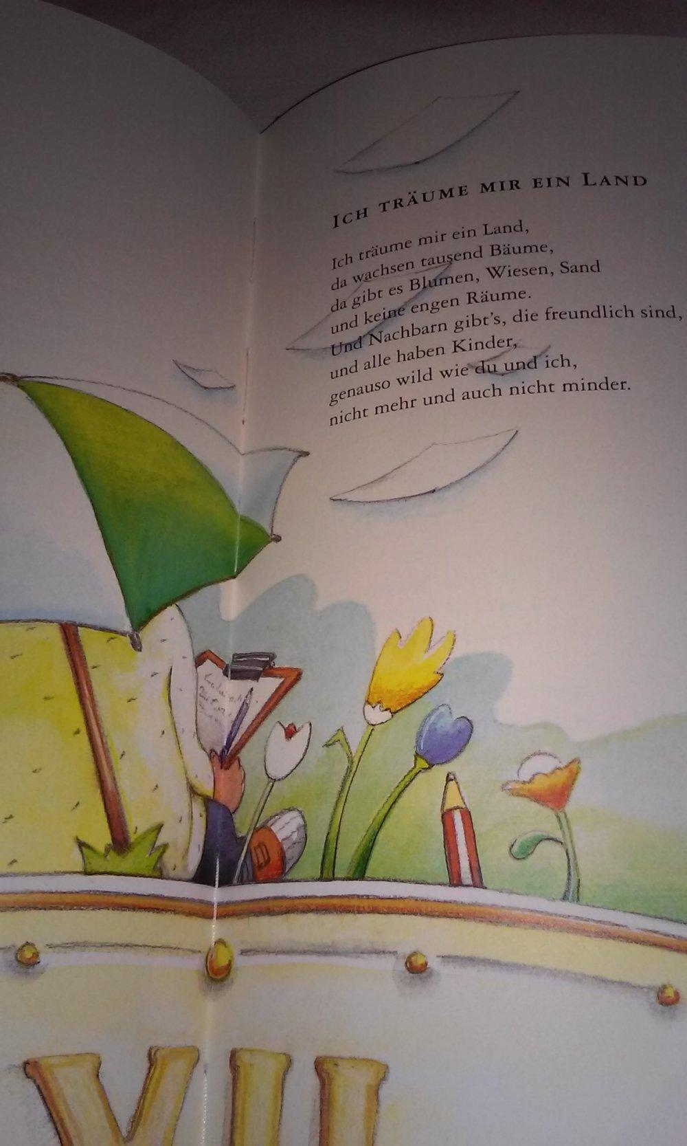 Gedicht über träume für kinder