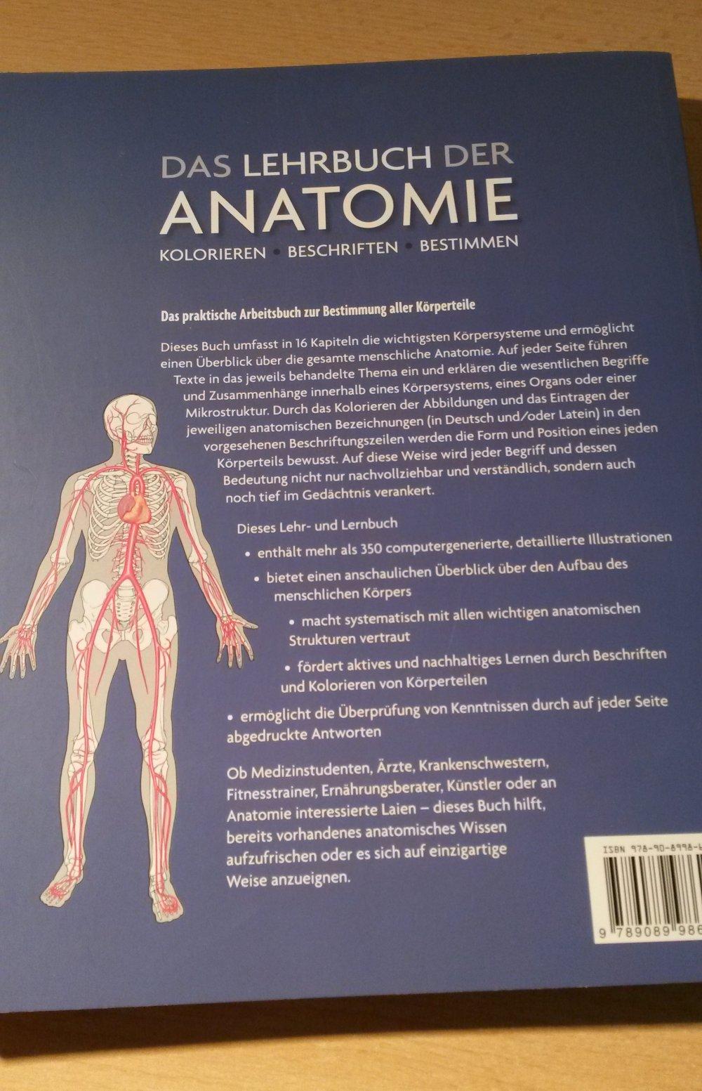 Das Lehrbuch der Anatomie :: Kleiderkorb.de
