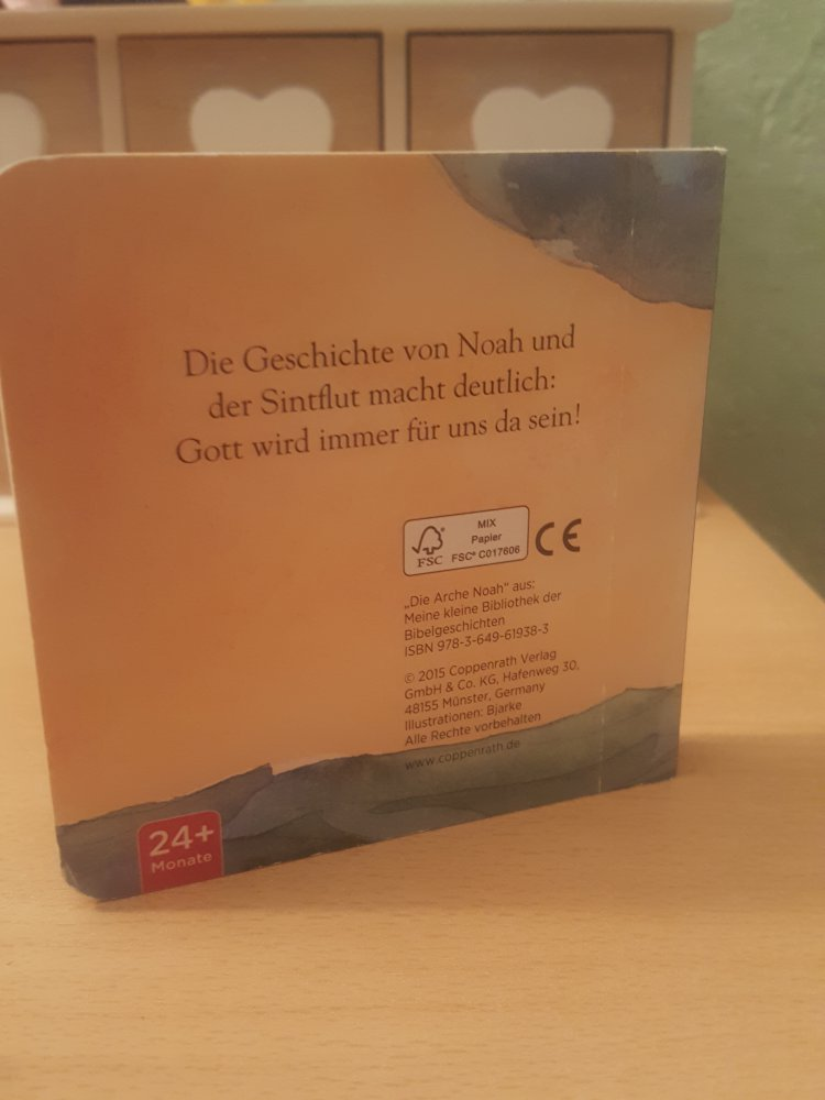 Die Arche Noah Buch Bilderbuch Coppenrath Taufe Taufgeschenk
