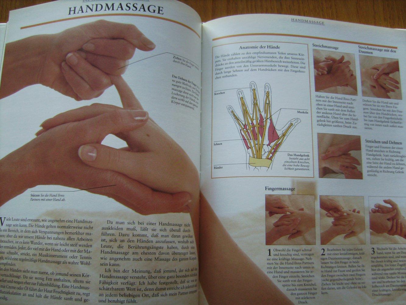 Massage, Hand- Kopf-, Gesichts- und Körpermassage, Druckpunkte ...