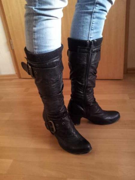 Stiefel Stiefel Stiefel Schwarze von Rieker Schwarze Rieker von Stiefel Schwarze Rieker Schwarze von txsQBhrdC