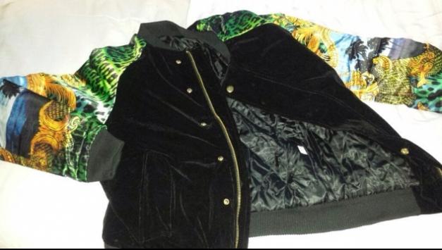 versace jeans herren jacke ec1gpa915 schwarz nero e899. Black Bedroom Furniture Sets. Home Design Ideas