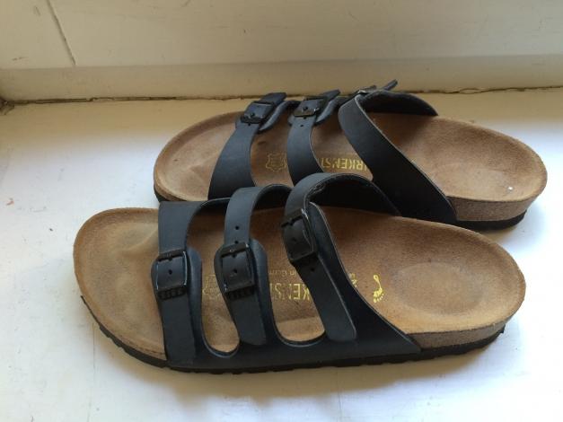 BIRKENSTOCK Schuhe Größe 37, 3 Riemchen