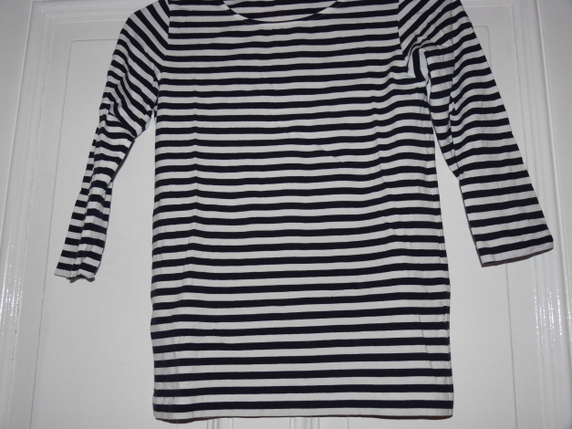 Cos Streifen Shirt Xs 34 Breton Dunkelblau Gestreift Kleiderkorb De