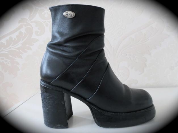 Rarität! Original 90er Blogger Plateau Buffalo Stiefel Stiefeletten 39