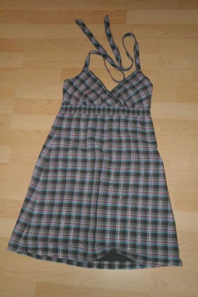 Esprit Neckholder Kleid kariert Gr. 36    Kleiderkorb.de b22e0866b6
