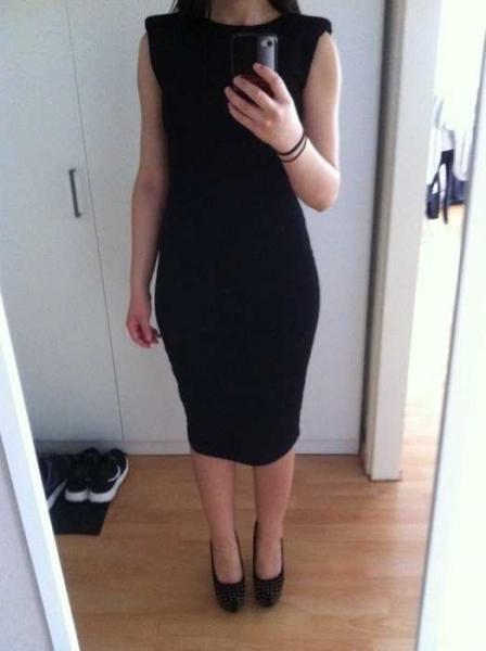 Langarm kleid primark