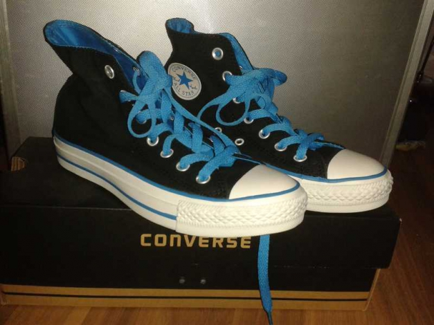 neu converse all star chucks schwarz blau. Black Bedroom Furniture Sets. Home Design Ideas