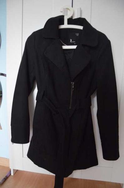 Schwarzer langer wintermantel - Schwarzer langer mantel ...