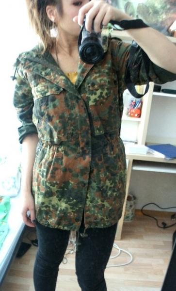 Kleiderkorb.de :: Original Bundeswehr Army Parka Jacke ...