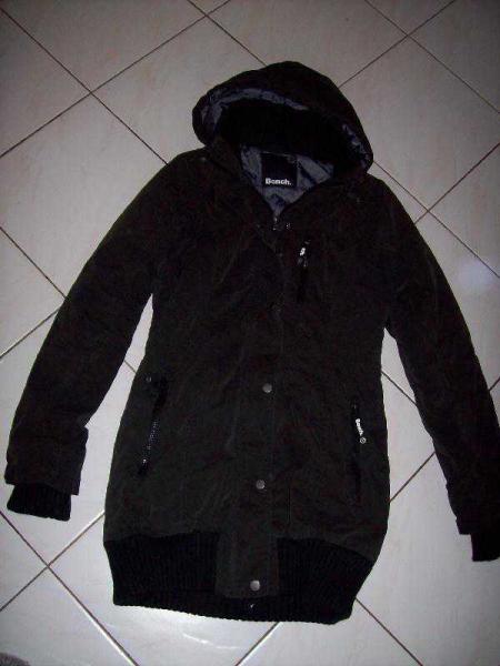 Bench Razzer Parka Jacke Mantel Winterjacke Damen Gr.S Black UVP 149,90€