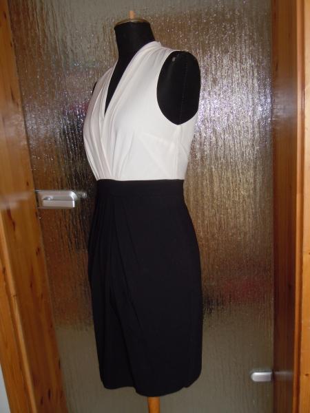 Kleid / neu / H&M / schwarz / weiß / festlich klassisch ...