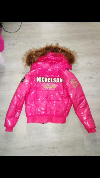Pinke Nickelson Jacke ::