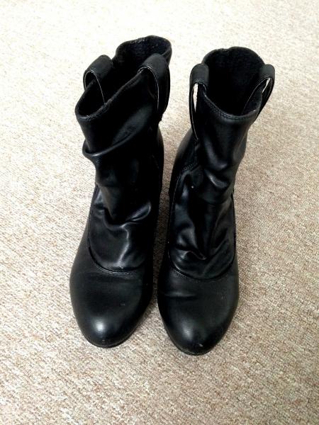 81cc9edc8cb3 Tally Weijl - schwarze leder stiefeletten chelsea boots mit ...