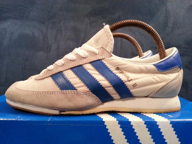 retro adidas graue streifen turnschuhe 1985