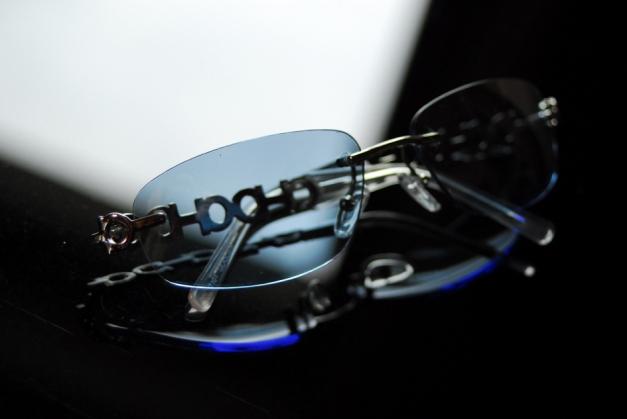 Transparentedurchsichtige Hallhuber Sonnenbrille