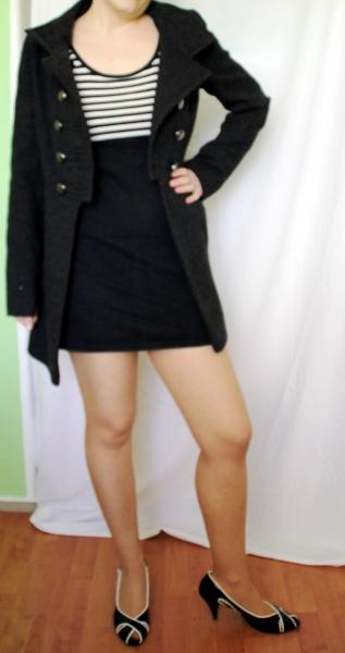 outlet store 27d78 5a9f6 Mantel Jane Norman Gr 34 / 36 S Millitary Super schöner neuer Mantel mit  schönen Details. Wollmantel