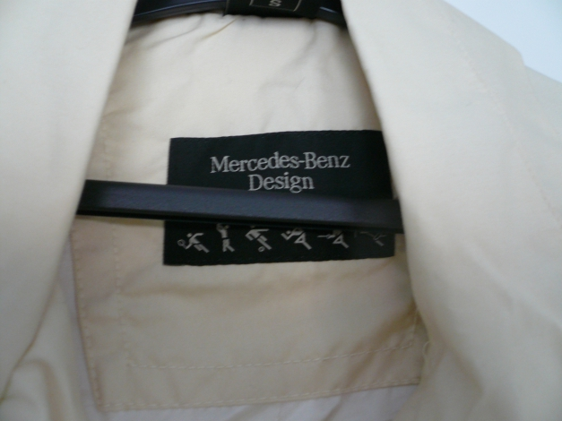 rarit t weste von mercedes benz in gr s in creme. Black Bedroom Furniture Sets. Home Design Ideas
