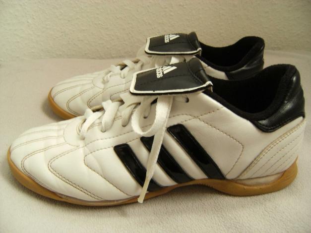Adidas Telstar Indoor Sportschuhe Sneaker weiß schwarz Leder 37 37,5 schmale 38
