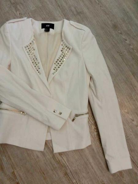 Chicker Blazer mit goldenen Glitzer | Blazer, Weiße blazer