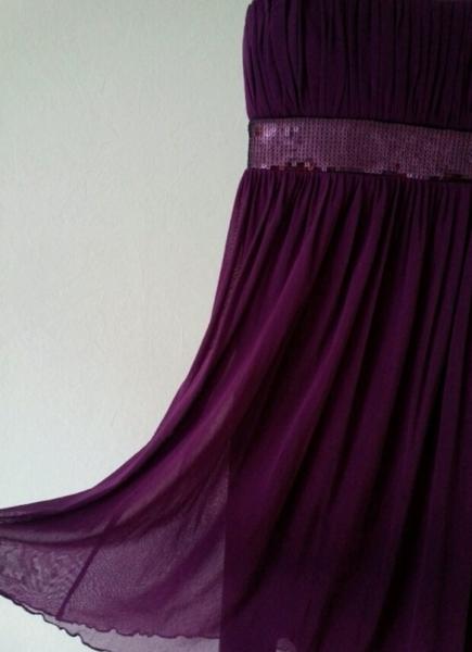 competitive price a208d 58477 Abendkleid kurz lila NEU Gr.36
