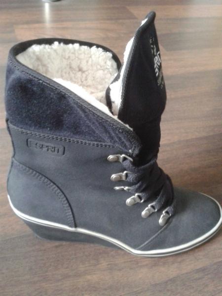 premium selection 4c595 de009 Stiefeletten mit Keilabsatz - Esprit - schwarz