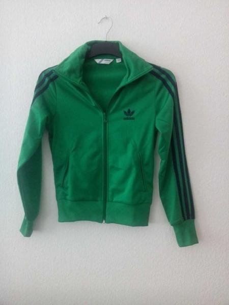 Adidas Firebird Jacke grün blau NEU! Adidas Firebird Jacke grün blau . 93080b431a