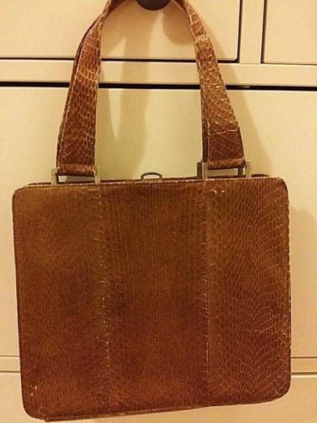 f01727252bc75 ON - Super schöne Vintage Tasche aus schlangen leder    Kleiderkorb.de