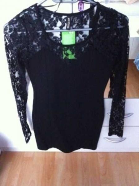 e6d2a312101f45 Mini Kleid mit spitze H&M neu :: Kleiderkorb.de