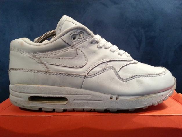 Nike Air Max 1 Allwhite 2000 weiß 41 US8 UK7 26cm