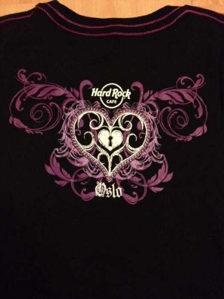 Hard Rock Cafe Oslo T Shirt Preis